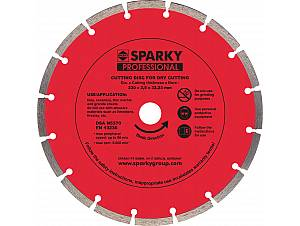 Sintered diamond blades
